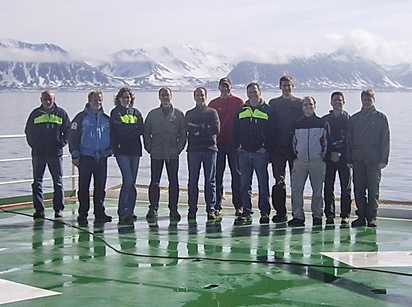 Test cruise crew